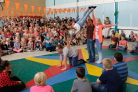 Dagproject Circusdag basisschool