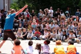 Theater op school: de Theaterdag